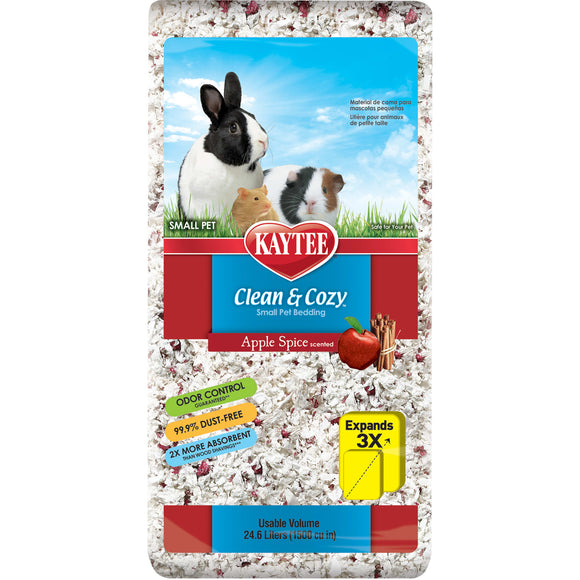 KAYTEE CLEAN & COZY APPLE SPICE BEDDING 24.6LT