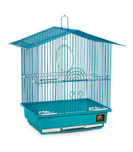 BIRD CAGE SMALL ASSORTED COLOURS 37X28X45CM