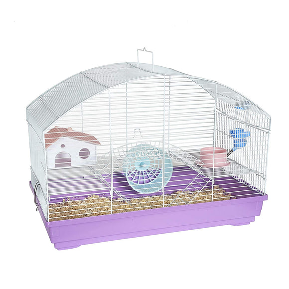 MOUSE CAGE ROUND TOP - ASSORTED COLOURS