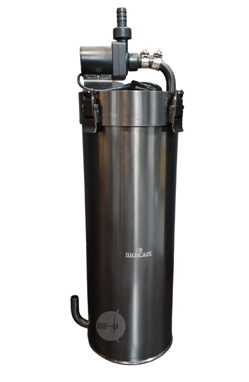 BIOSCAPE STAINLESS STEEL CANISTER FILTER 1000LPH