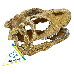 AQUA ONE ORNAMENT DINOSAUR SKULL