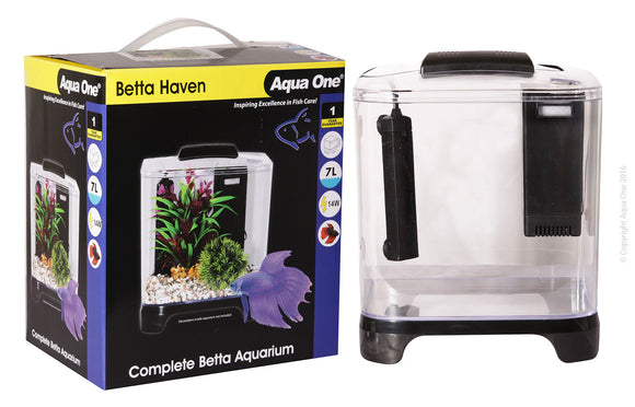 AQUA ONE BETTA HAVEN ACRYLIC AQUARIUM 7L