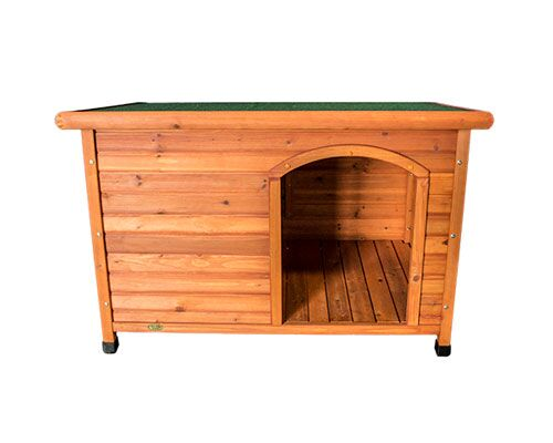 PET MAGIC WOODEN KENNEL - MEDIUM