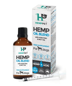 HEMP, HOKI AND MTC BLEND FOR DOGS 100ML