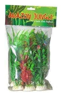 PLANTS MIXED PLASTIC PLANTS 10CM 6PK