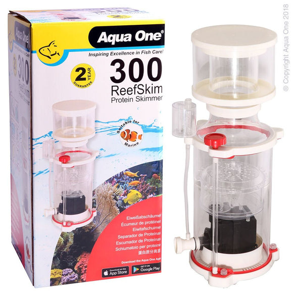 AQUA ONE REEFSKIM 300 PROTEIN SKIMMER 800LH UP TO 300L TANK
