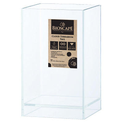 BIOSCAPE CLOUD TERRARIUM TALL SMALL + COVER 20X20X35CM