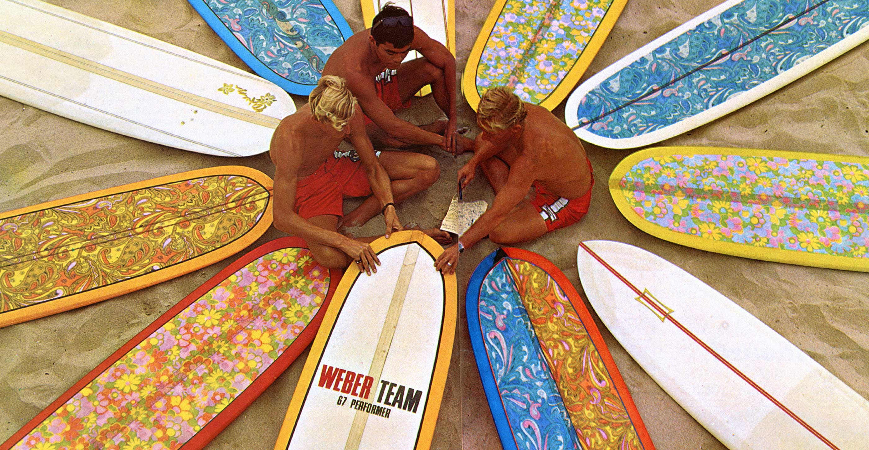 HAND-SHAPED SURFBOARDS