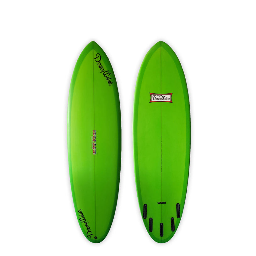 "<span>Green Five Fin </span>6'0"" Easy Rider"