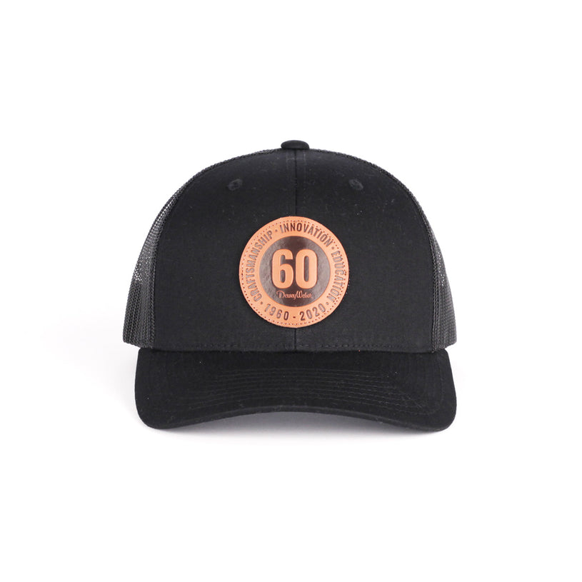 Black 60th Anniversary Snap Hat
