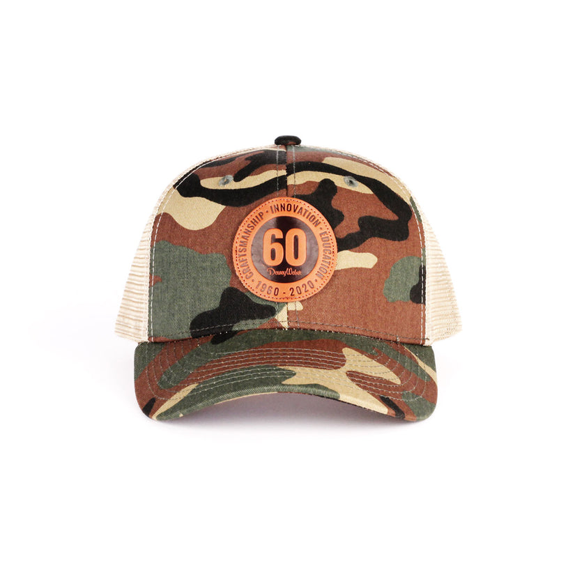 Camo 60th Anniversary Snap Hat