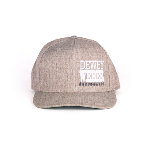 Grey Block Snap Hat