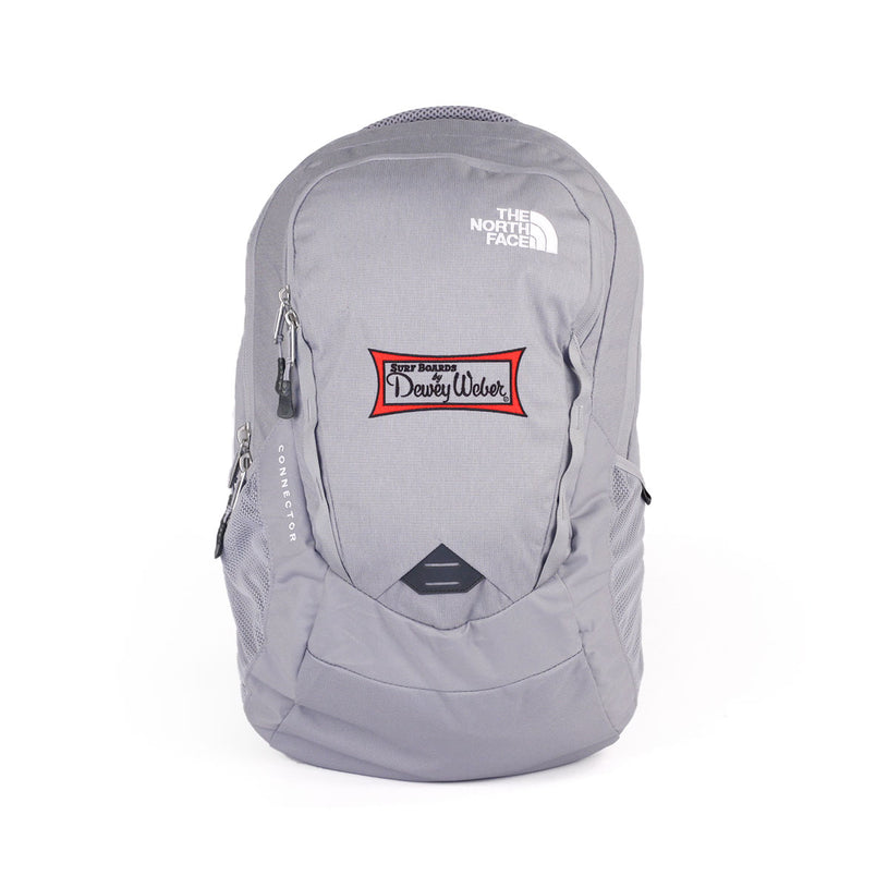 Grey Classic Logo North Face Backpack
