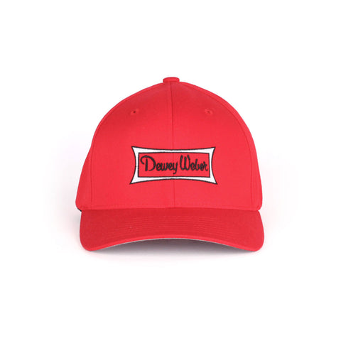Red Classic Logo Flex Fit Hat