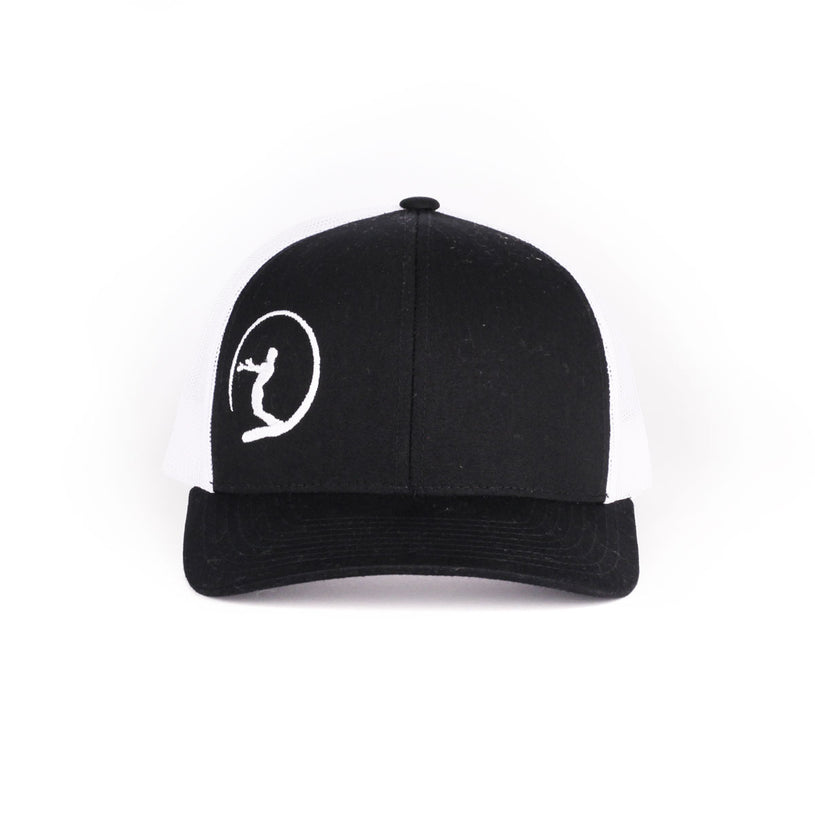 Black Icon Snap Hat