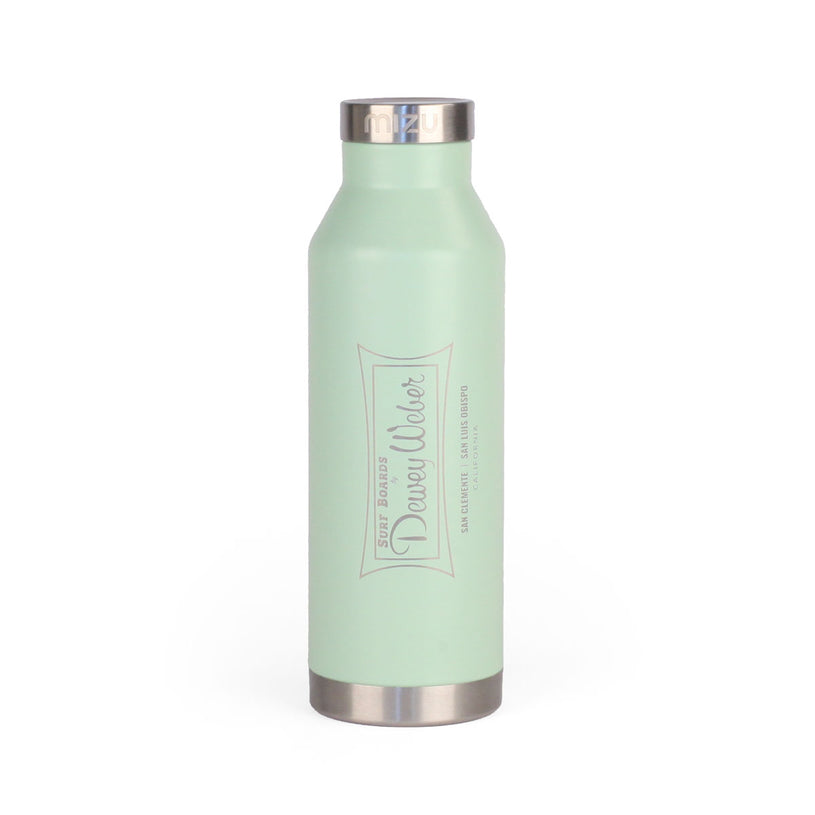 Mint Green Classic Logo Water Bottle