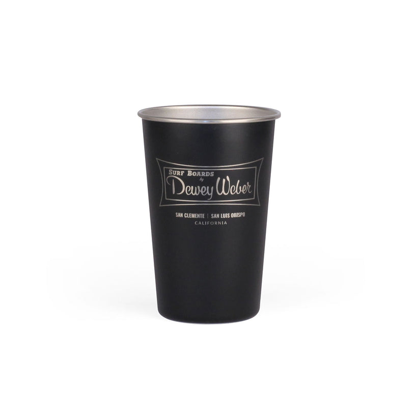 Black Classic Logo Party Cup