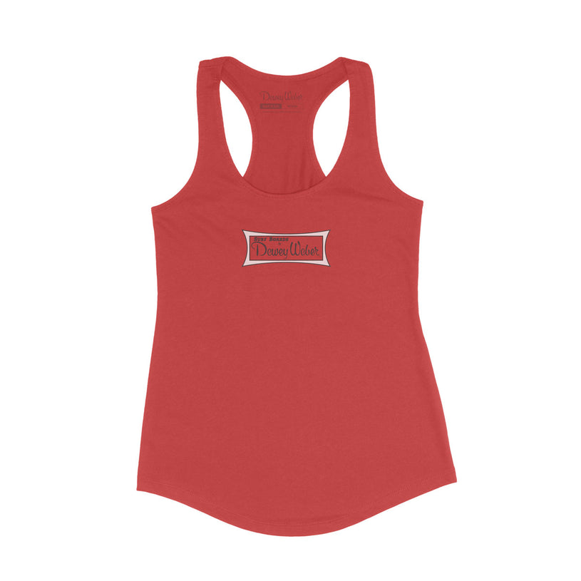 Red Classic Logo Tank