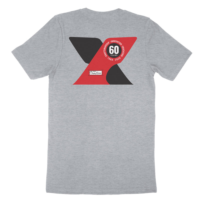 Grey 60th Anniversary T-Shirt