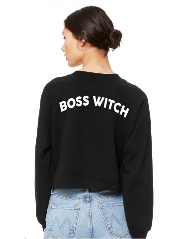 """Boss Witch"" Cropped Sweatshirt"