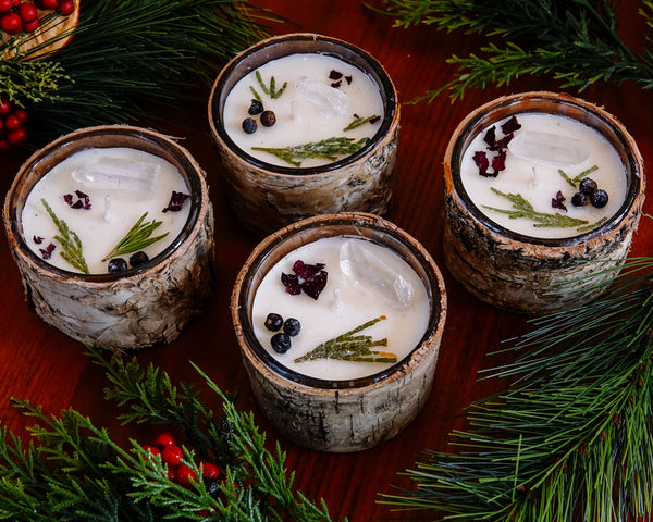 Balsam & Cedar Winter Altar Candles