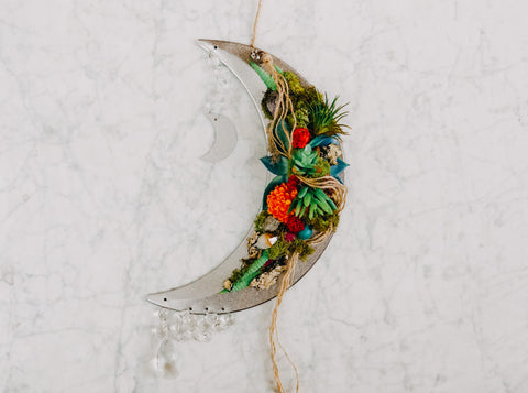Crescent Moon Wall Hanging