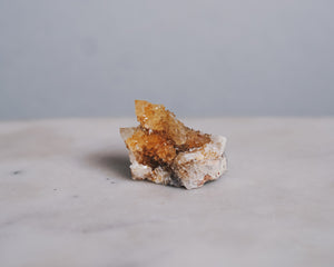 White + Citrine Spirit Quartz Crystal
