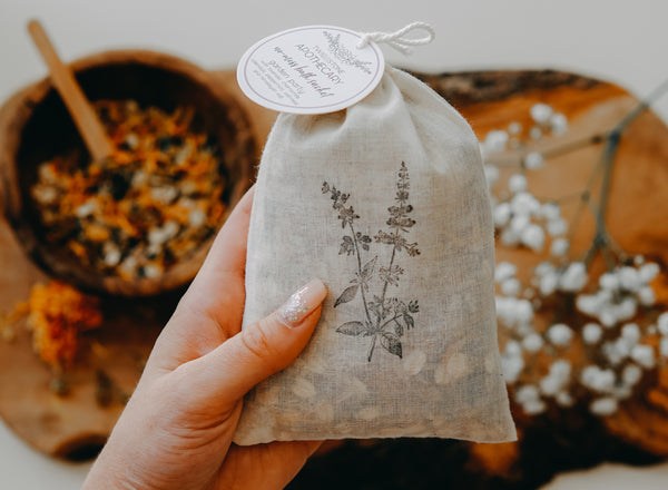 No-Mess Bath Sachet: Garden Party
