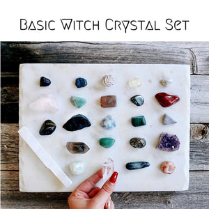 Basic Witch Crystal Set