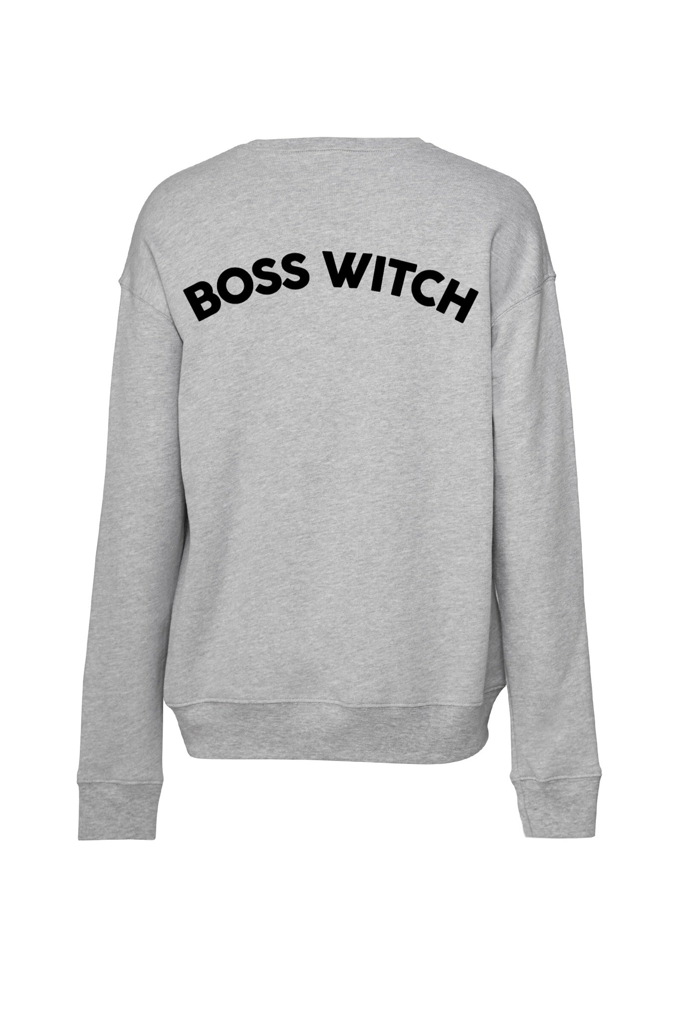 """Boss Witch"" Unisex Drop-Shoulder Sweatshirt"