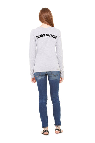 """Boss Witch"" Classic Long Sleeve Tee **PRE-SALE**"