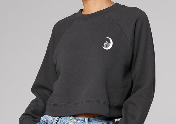 """Boss Witch"" Modest Cropped Sweatshirt"
