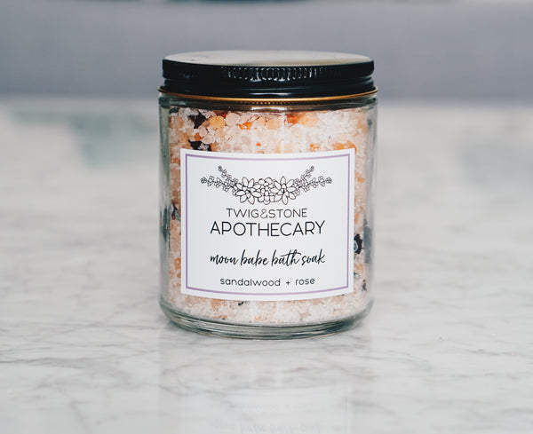 Moon Babe Bath Soak: Sandalwood & Rose