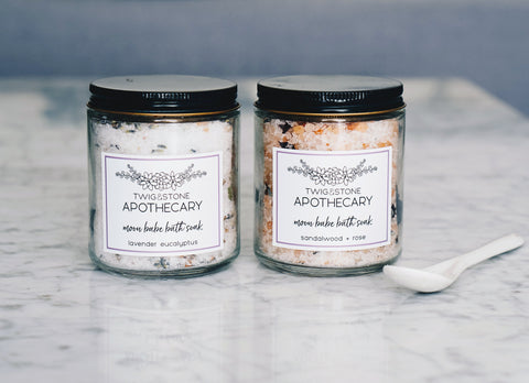 Moon Babe Bath Soak Duo