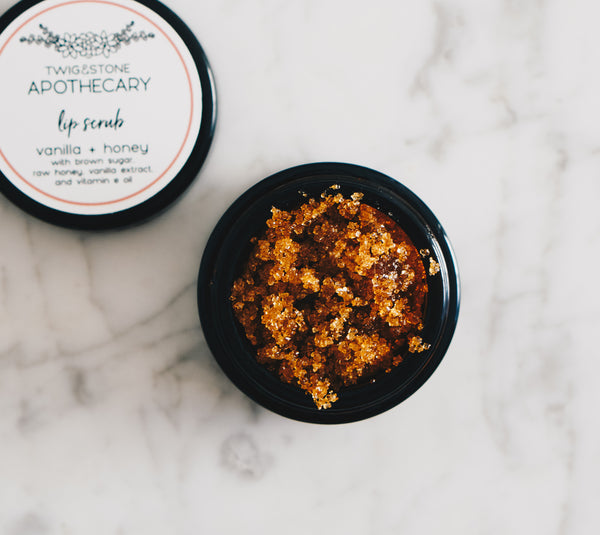 Lip Scrub: Vanilla & Honey
