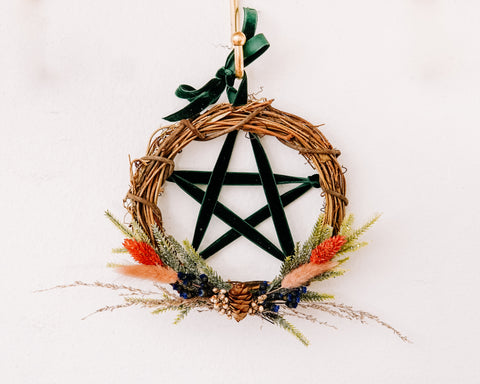 Pentacle Yule Ornament