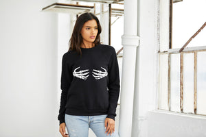 """Bad To The Bones"" Crewneck Sweatshirt"