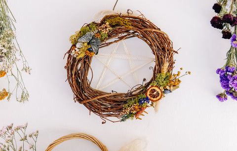 Springtime Cottage Wreath