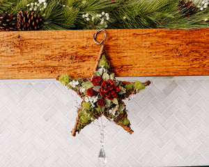 Woodland Star With Crystal Prisms