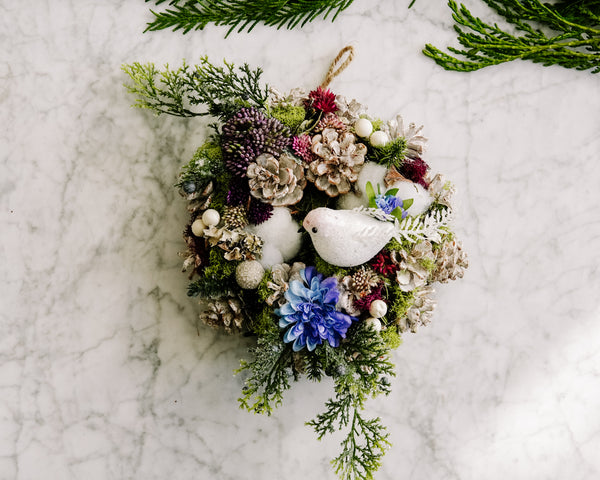 Woodland Winter Wreath