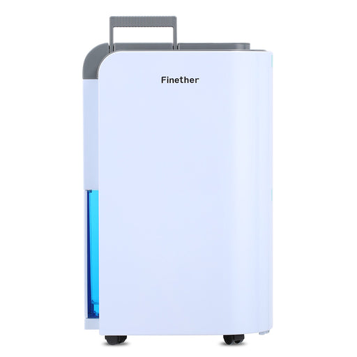 Finether Dehumidifier Home Air Dehumidifier 12L/D Clothes Dryer│Electric Air Purifying Dehumidifier│Timer│Multi-mode│Activated Carbon Filter│Drying Clothes│Auto Defrost