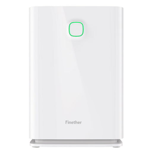 Air Purifier - Home Carbon Filter Air Purifiers Quiet Air Cleaner with HEPA Filter, 3 Stage Filtration System, 4 Timers, 3 Fan Speed, Child Lock, Filter Replace Indicator for Room Bedroom 323 sq. Ft-Finether