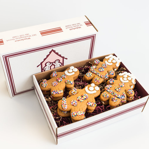 Gingerbread Cookie 12-Pack Gift Box The Gingerbread Construction Co.