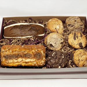 Large Muffin Loaf & Gourmet Cookie Gift Box The Gingerbread Construction Co.