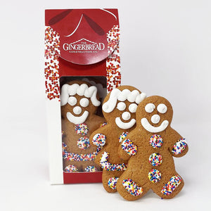 Gingerbread Cookie 4-Pack The Gingerbread Construction Co.