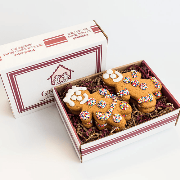 Gingerbread Cookie 6-Pack Gift Box The Gingerbread Construction Co.