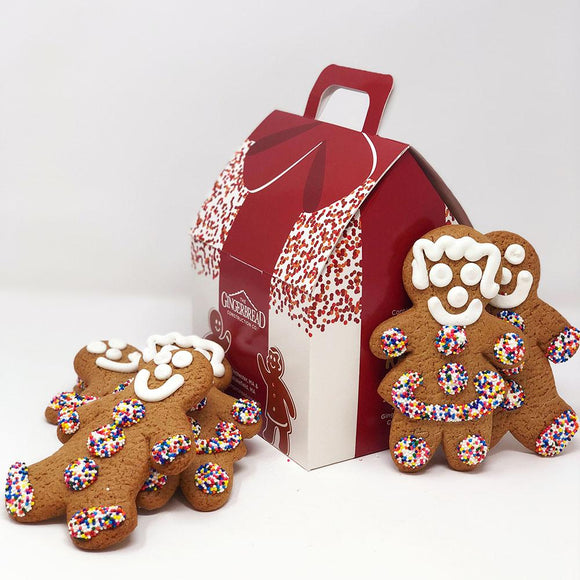 6-Pack Gingerbread Cookies The Gingerbread Construction Co.