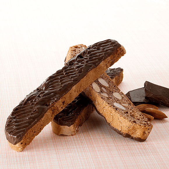 Almond Dipped Biscotti