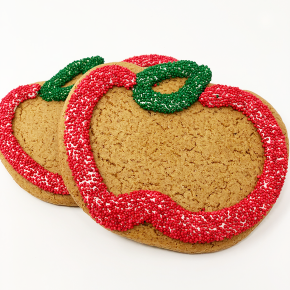 Apple Gingerbread Cookies