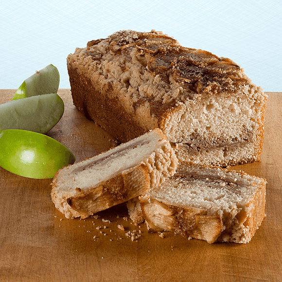 Apple Crumb Muffin Loaf